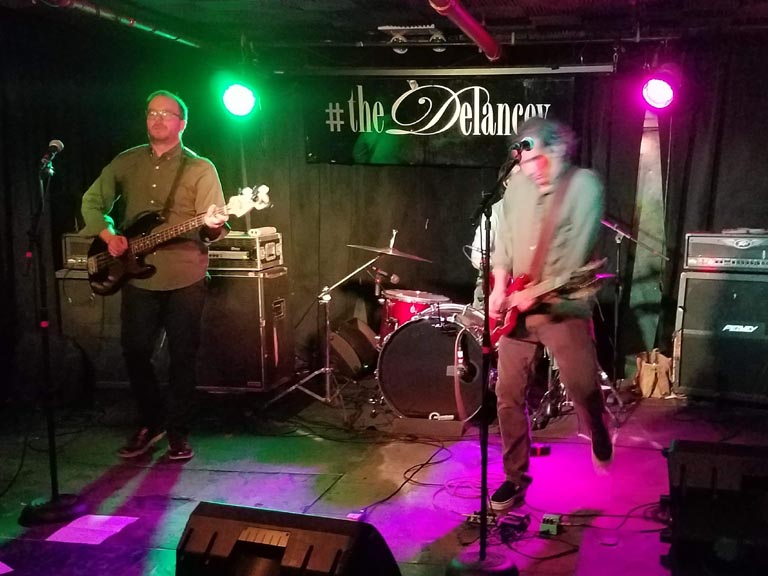 Recalculating, The Delancey, LES Manhattan, November 8, 2018