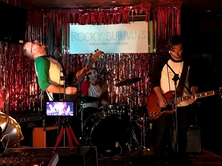 Recalculating Live at Rocky Sullivan's, Red Hook, Brooklyn, October 4, 2019